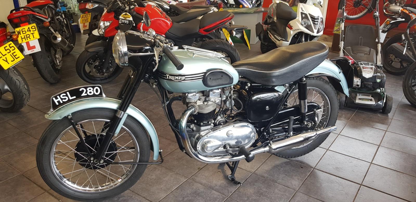1955 Triumph Tiger T110
